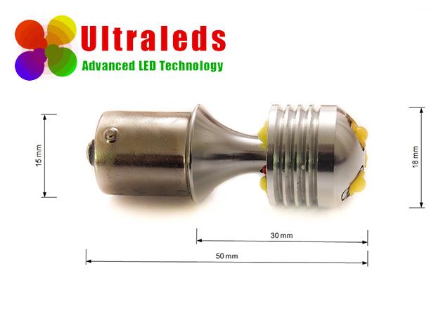 Żarówka LED P21W BA15S 30 Wat 15*5W CREE LED CANBUS